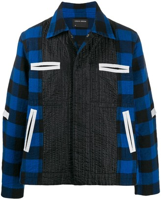 Craig Green Checked Boxy Jacket