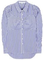 Veronica Beard Striped cotton shirt
