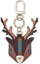 Tory Burch Ruth Appliquéd Leather Keychain
