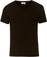 American Vintage V-neck cotton T-shirt
