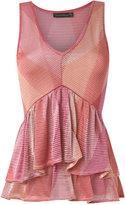 Cecilia Prado knitted blouse - women - Acrylic/Lurex/Viscose - M