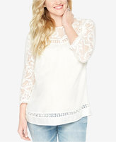 Wendy Bellissimo Maternity Lace Blouse