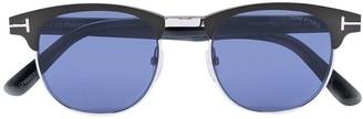Tom Ford Club M round sunglasses