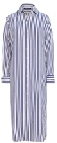 Thumbnail for your product : Ralph Lauren Collection Ralph Lauren Graison Striped Silk Day Dress