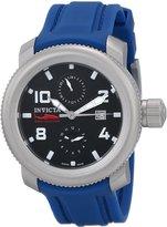 Invicta Men's Russian Diver/Sea Hunter Dial Blue Polyurethane