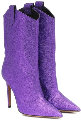Alexandre Vauthier Exclusive to Mytheresa Wayne glitter ankle boots