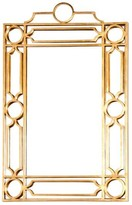 The Well Appointed House Worlds Away Treillage Gold Leaf Wall Mirror