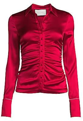 Alexis Women's Stacee Ruched Silk Shirt