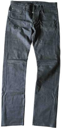 Christian Dior Grey Cotton Jeans
