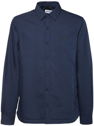 Kenzo Padded Cotton Blend Shirt Casual Jacket