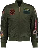 Alpha Industries Pilot Bomber Jacket Dark Green