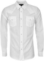 True Religion Jake Western Shirt White