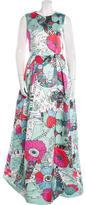 Mary Katrantzou Astere Print Evening Dress
