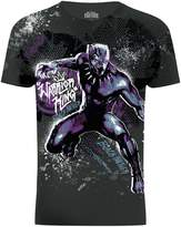 Marvel Black Panther Warrior King Graphic Sublimation T-Shirt (S)