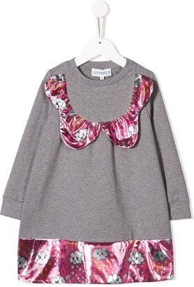Simonetta Cloud Panelled Jumper Dress