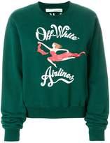 Off-White airlines print sweatshirt