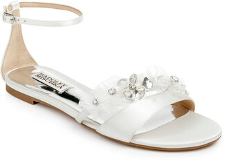 Badgley Mischka Collection Candace Embellished Flat