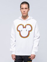 Iceberg Mickey Mouse Outline Hoodie