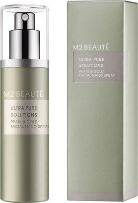 M2 Beaute Pearl And Gold Nano Spray (75ml)