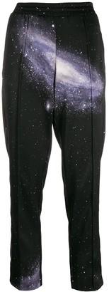 Pinko space print track pants