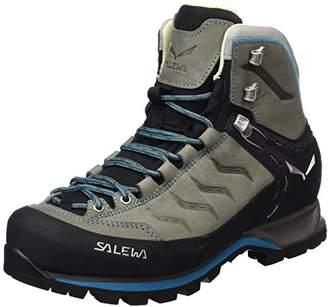 Salewa Women's Mountain Trainer Mid Leder-Halbhoher Bergschuh Damen High Rise Hiking Shoes