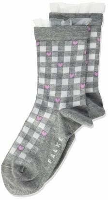 Falke Girl's Vichy Check Ankle Socks