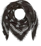 Versace Printed Scarf with Silk