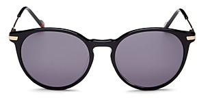 Le Specs Luxe Women's Ufology Alt Fit Round Sunglasses, 53mm
