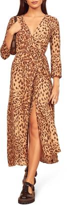 Reformation Alessandra Long Sleeve Maxi Dress