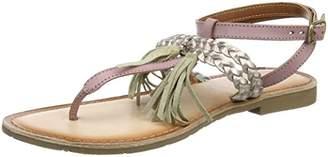 Marco Tozzi Premio 28129, Women's Ankle Strap Sandals, Pink (Rose Comb 596), (40 EU)