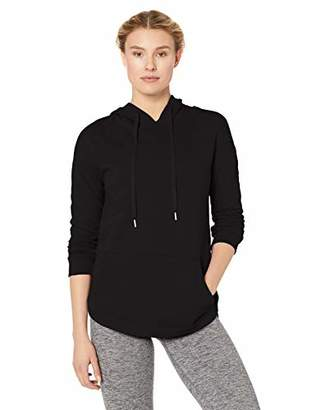 Andrew Marc Women's High-Low Hooded Pullover