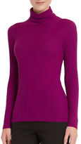 Ellen Tracy Fuschia Turtleneck Sweater