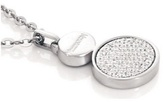 Nomination Stainless Steel Cubic Zirconia Lotus Necklace 043120 001