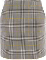 Karen Millen Check Tailored Skirt
