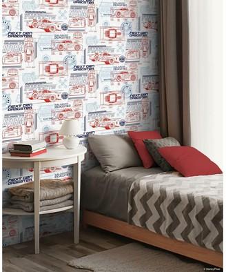 Room Mates RoomMates Disney/Pixar Cars Schematic Peel & Stick Wallpaper