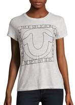 True Religion Solid Crewneck Tee