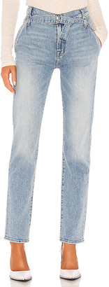 7 For All Mankind Paperbag Slim Straight. - size 24 (also