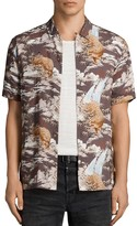 AllSaints Sumatra Short Sleeve Slim Fit Shirt