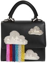 Les Petits Joueurs Micro Alex Cloud Fringed Leather Bag