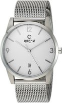 Obaku Men's V169GDCIMC Analog Display Analog Quartz Watch