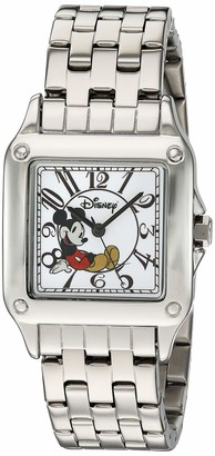 Disney Women's Mickey Mouse Analog-Quartz Watch with Stainless-Steel Strap