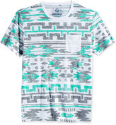 American Rag Men's Southwest Graphic-Print Pocket T-Shirt, Only at Macy's