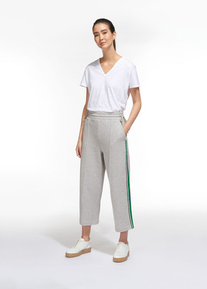 Tie Side Stripe Sweat Pants