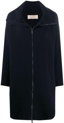 Gentry Portofino Zip-Up Knitted Coat