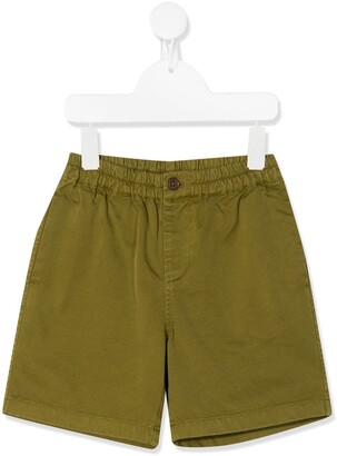 Caramel Barbican fitted shorts