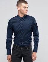 Sisley Slim Fit Shirt with Stretch