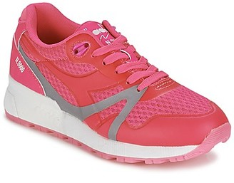 Diadora N9000 MM BRIGHT women's Shoes (Trainers) in Pink