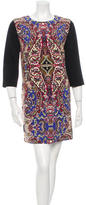 Rachel Zoe Long Sleeve Paisley Dress