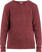 Massimo Alba Crew-neck alpaca-blend sweater