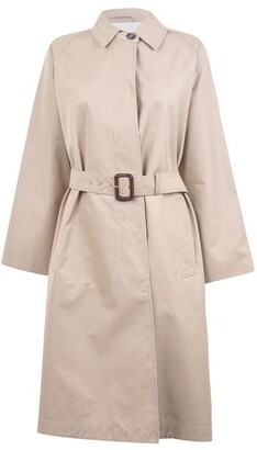 Max Mara Weekend Cotton Garbardine Trench Coat